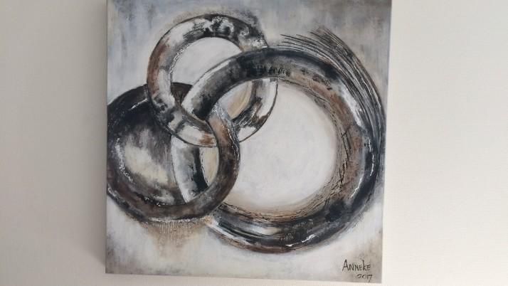 Kunstwerk juf Anneke