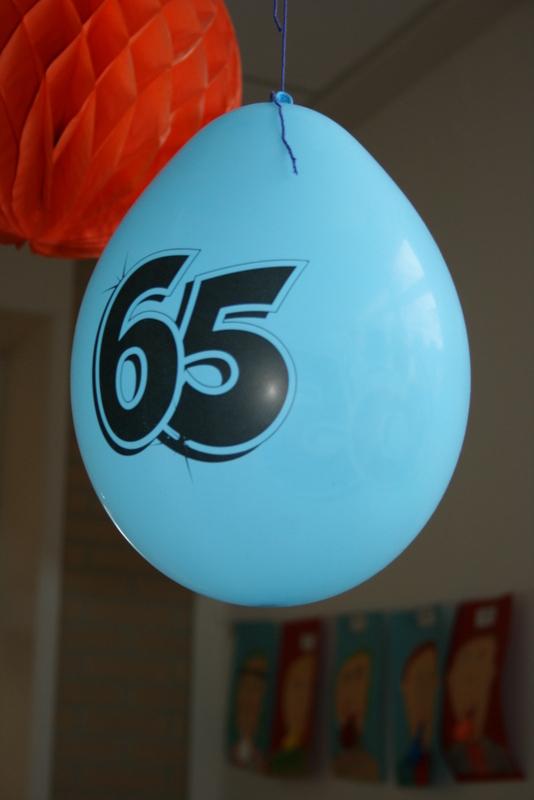 Juf Anneke 65 jaar