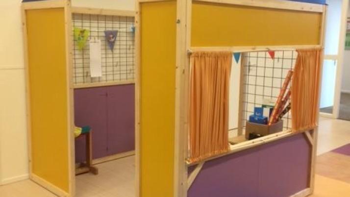 In de Wheemschool staat een huis…