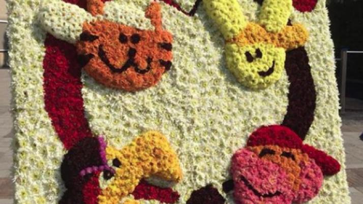 Ook De Wheemschool viert Floralia